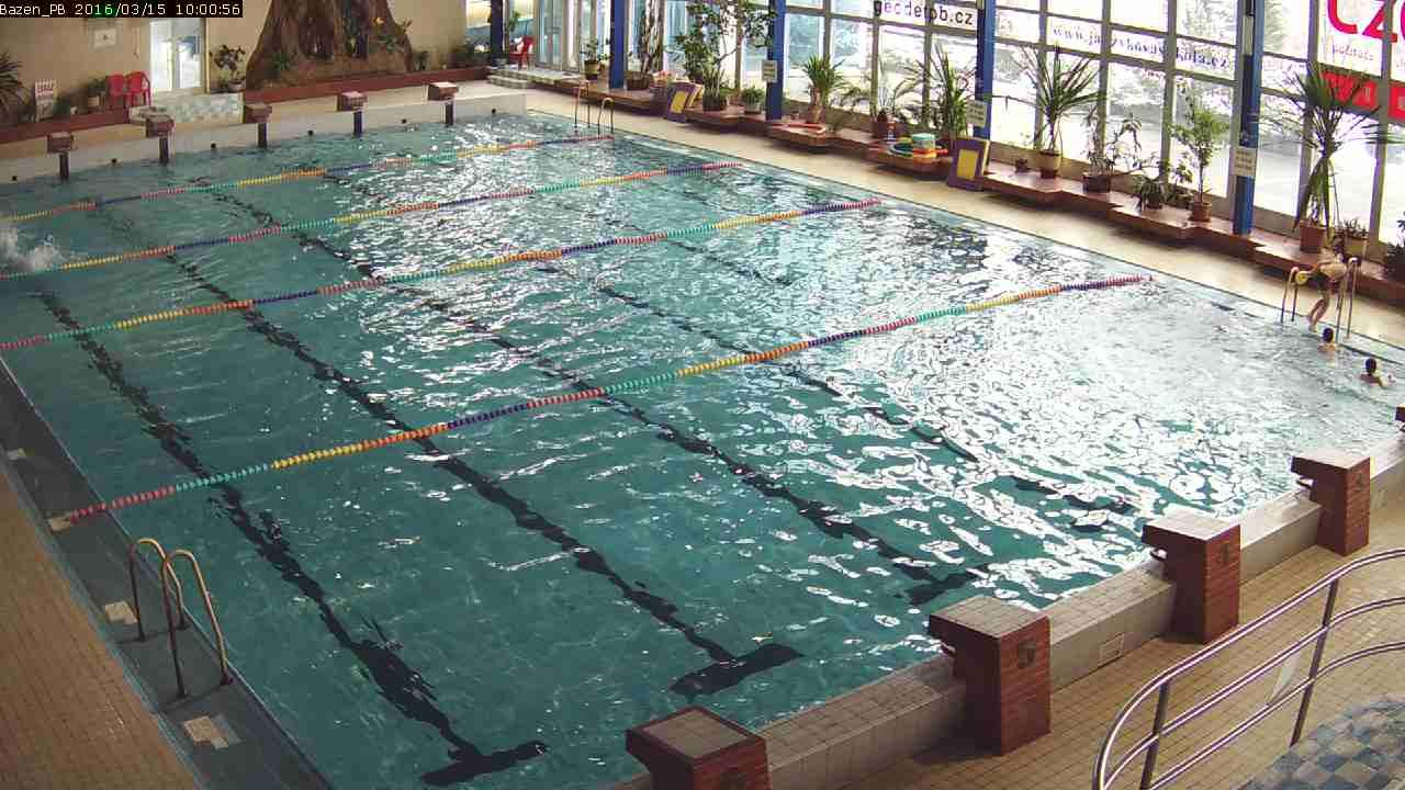 Webkamera Příbram bazén